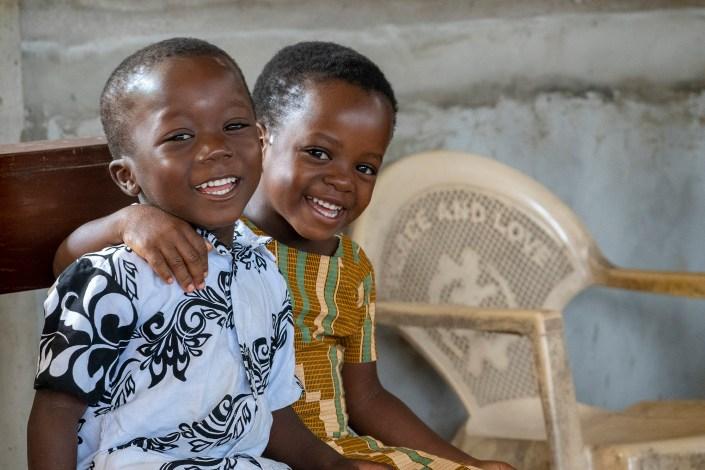 smiling children, Ghana