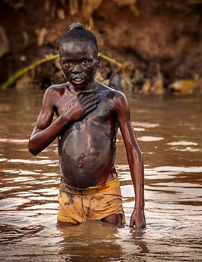 Mud Bath, Africa