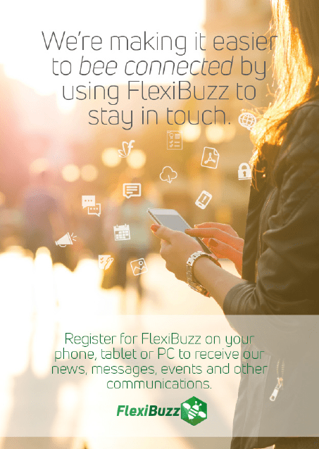 FlexiBuzz User Registration Page 1