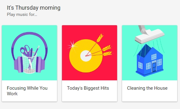 Google Play Music playlist