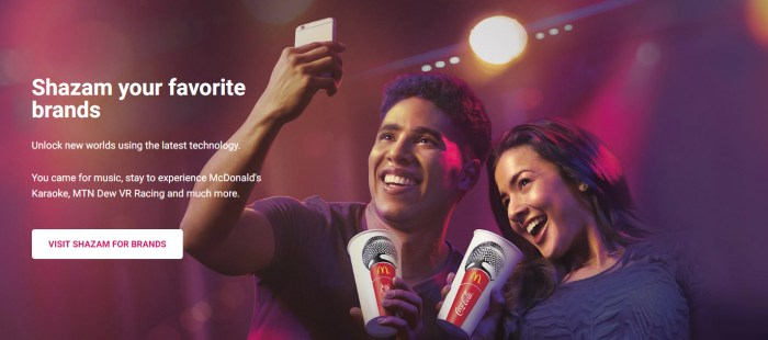 Shazam brands