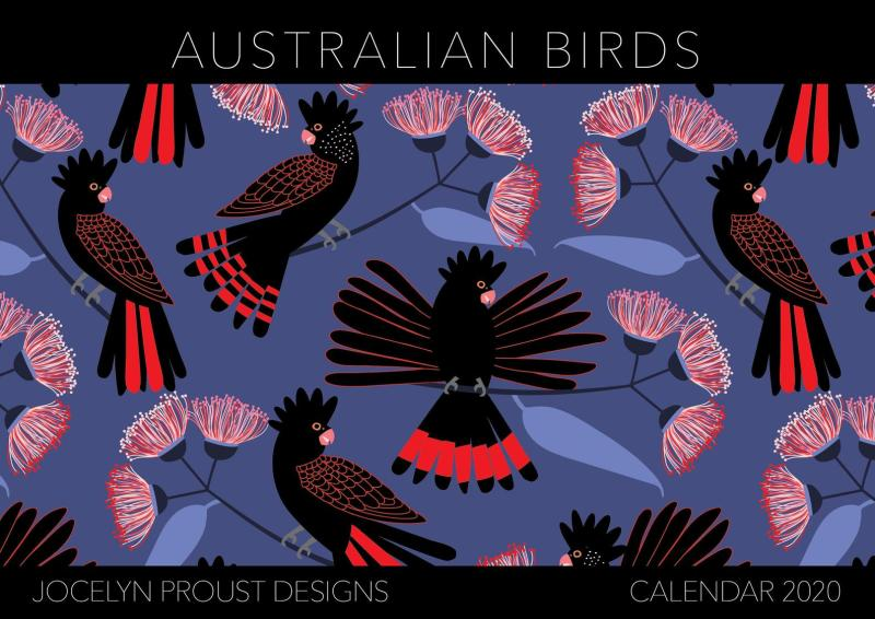 Australian Birds by Jocelyn Proust Designs 2020 Calendar