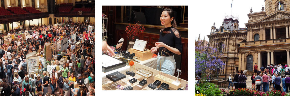 Images captured by DBP as part of our Sydney Made Instagram takeover at Etsy Made Local (second image features Fairina Cheng)