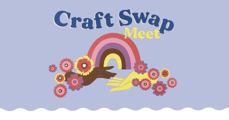 Craft Swap Meet Poster by Kitiya Palaskas