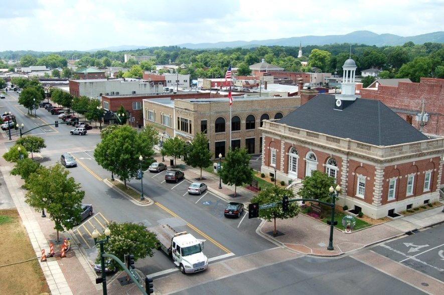 Downtown Dalton, Georgia