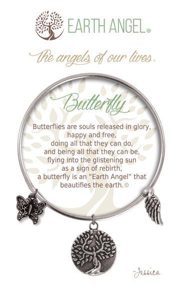 "Earth Angel Charm Bracelet ""Aunt"""