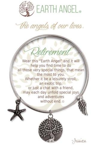 "Earth Angels Charm Bracelet ""Retirement"""