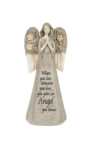 Carson Bereavement Angel Luminous Garden