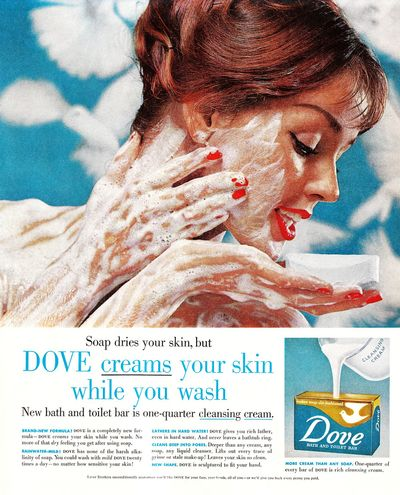 can dove soap be used on face