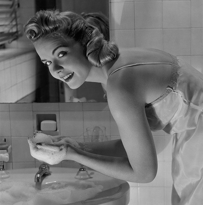 Yeah, That's Right. I'm Washing My Face With Dove Soap.