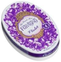 violet candies flavigny