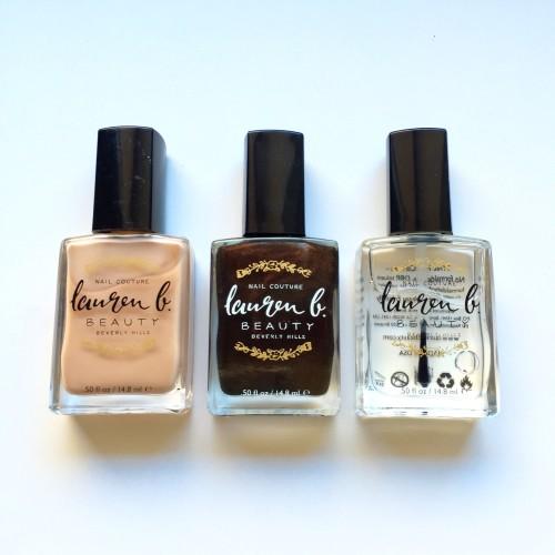 Lauren B nail polish review dalybeauty