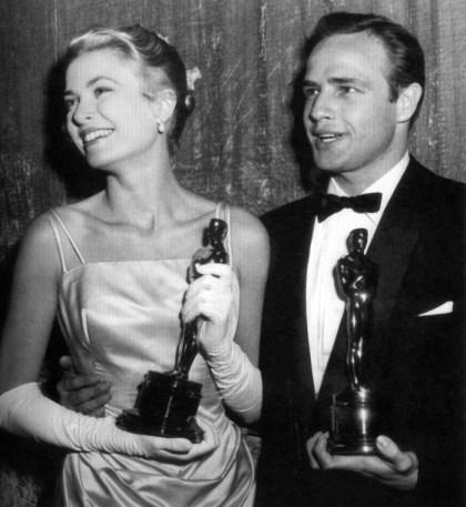 Grace Kelly Marlon Brando Oscars