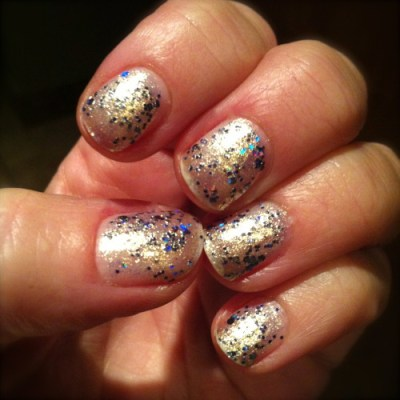 Essie On A Silver Platter Encrusted Treasures