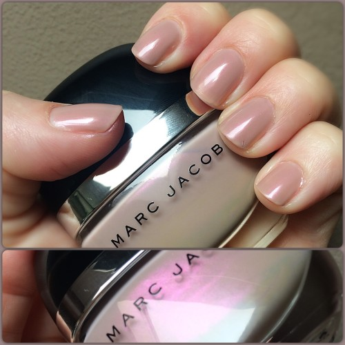 Marc Jacobs High Shine Enamoured polish Fluorescent Beige swatch