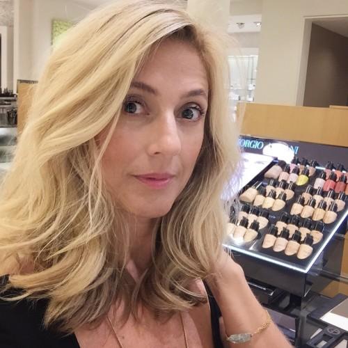 At Armani Beauty Counter - thank you Jolanta!