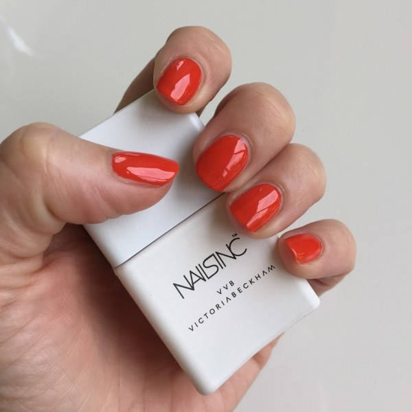 Orange Is The New Red Victoria Beckham For Nails Inc Judo
