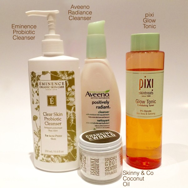 Cleansers for oily acne prone skin