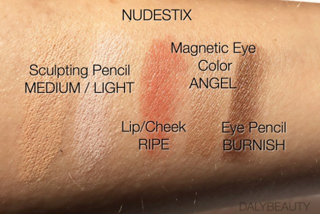 Nudestix swatches review dalybeauty
