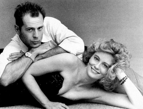 Moonlighting 1987-Bruce-Willis-Rolex-Datejust-Cybil-Sheppard