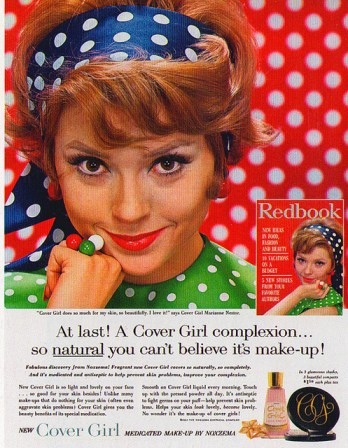 cover girl complexion make up natural vintage