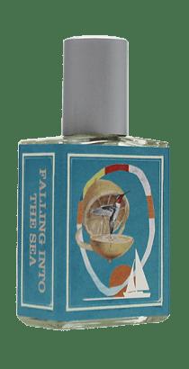 falling into the sea perfume bottle