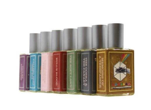 imaginary authors perfume bottles