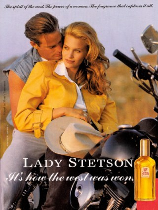 lady stetson vintage ad