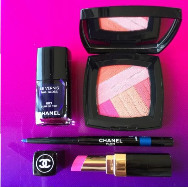Chanel LA Sunrise collection review dalybeauty