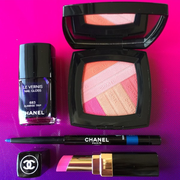 CHANEL LA Sunrise Spring 2016 dalybeauty