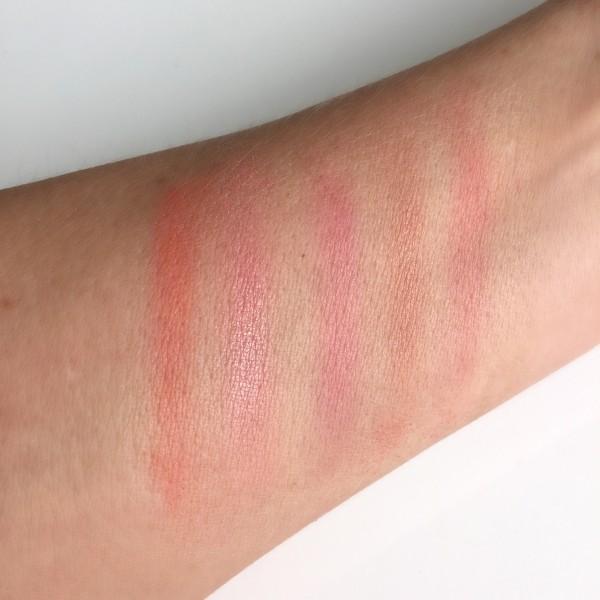 Chanel LA Sunrise Sunkiss Ribbon Blush swatch dalybeauty