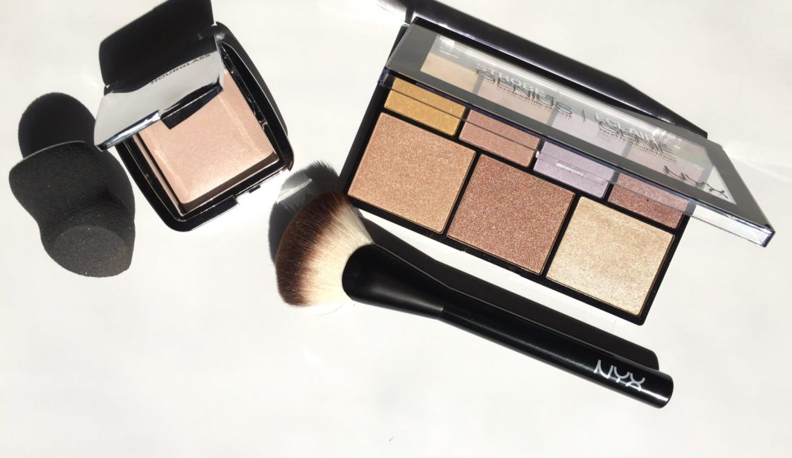 High Low: Hourglass Ambient Strobing Powder & NYX Strobe of Genius Review