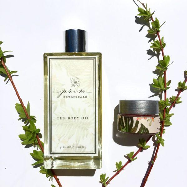Prim Botanicals Body Oil Lip Sheen