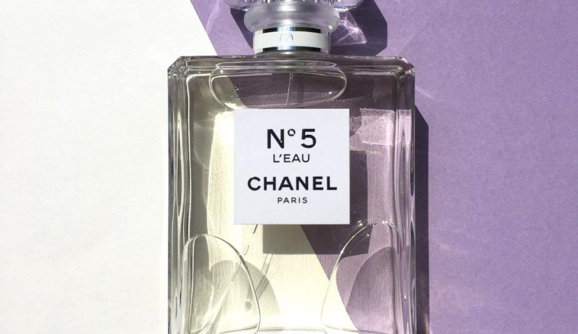 CHANEL No5 L'EAU – A PERFECT MODERN TWIST ON A CLASSIC