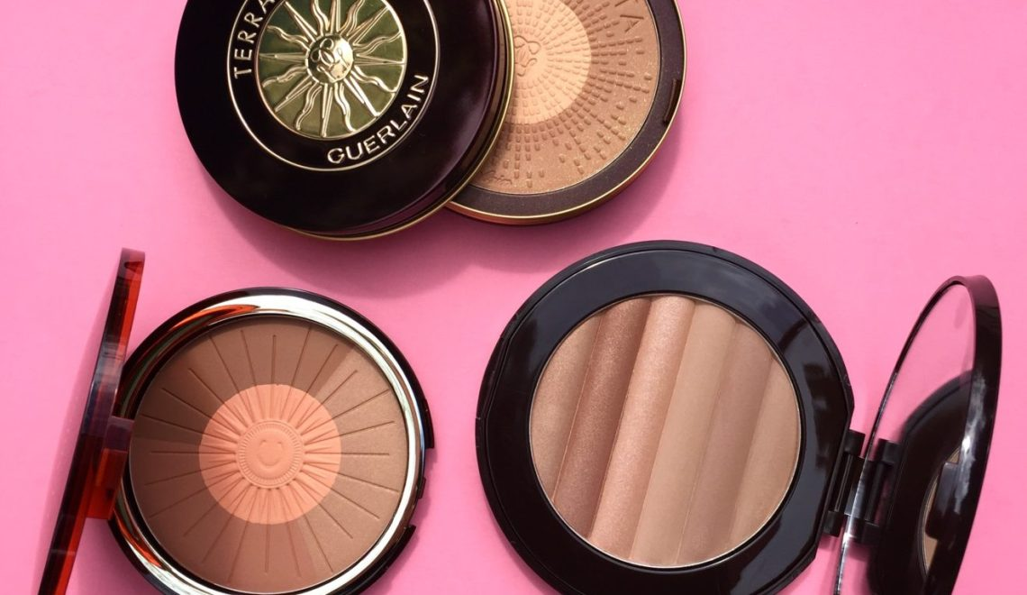 Bronze, Blush, Contour & Highlight All In One: Guerlain, Clarins & PUR Minerals