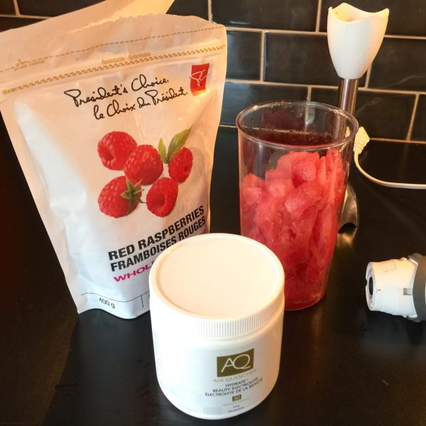 AGE QUENCHER Beauty Electrolyte smoothie