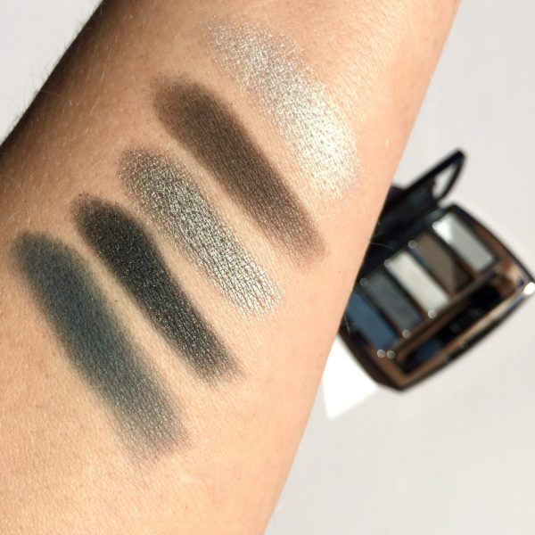Chanel Les 5 Ombres Palette Architectonic swatches