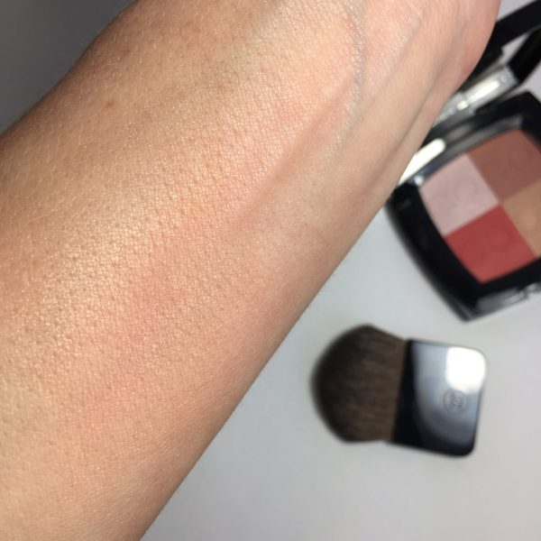 CHANEL COCO CODE Harmonie de Blush swatch blended