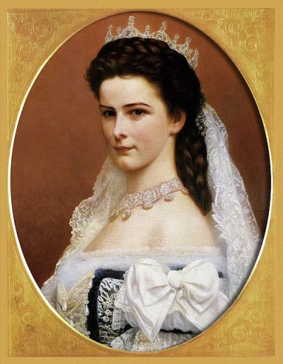 Empress Elizabeth of Hungary, well known for her youthful beauty (and said obsession)