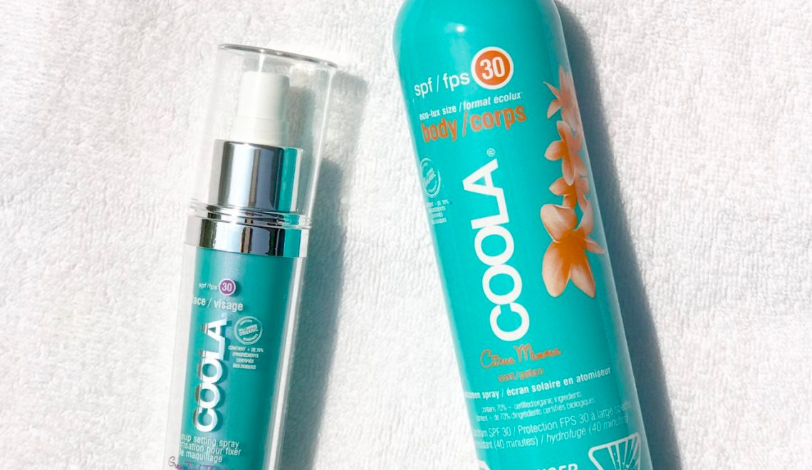 Keeping My Cool With Coola Organic Suncare (+ discount code!)