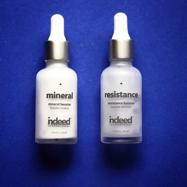 Skincare #musthaves Indeed Mineral and Radiance Booster Serums