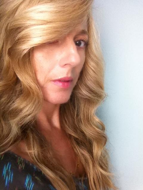 shiny healthy hair jane