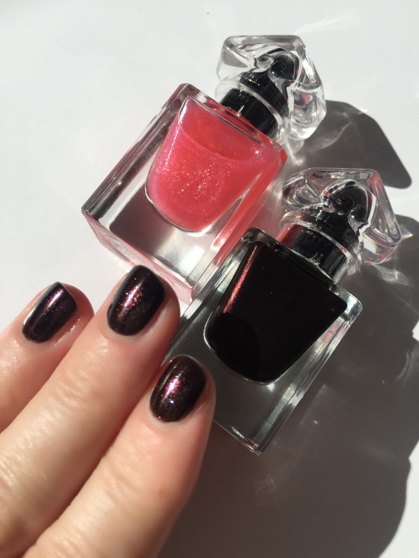Guerlain Petite Robe Noire Black Perfecto and My First Nail Polish