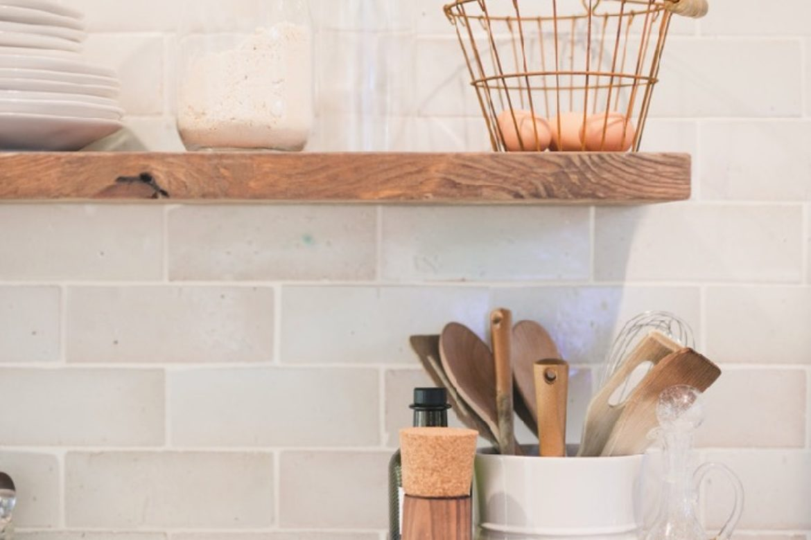 how to install kitchen floating shelves daly digs