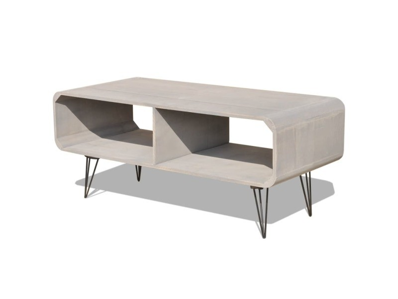 vidaxl meuble tv 90 x 39 x 38 5 cm bois gris