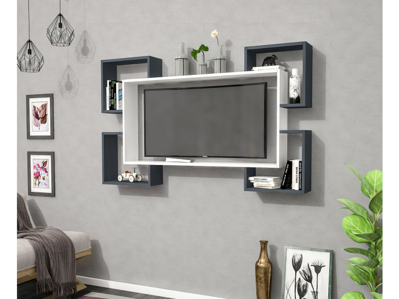meuble tv design gris