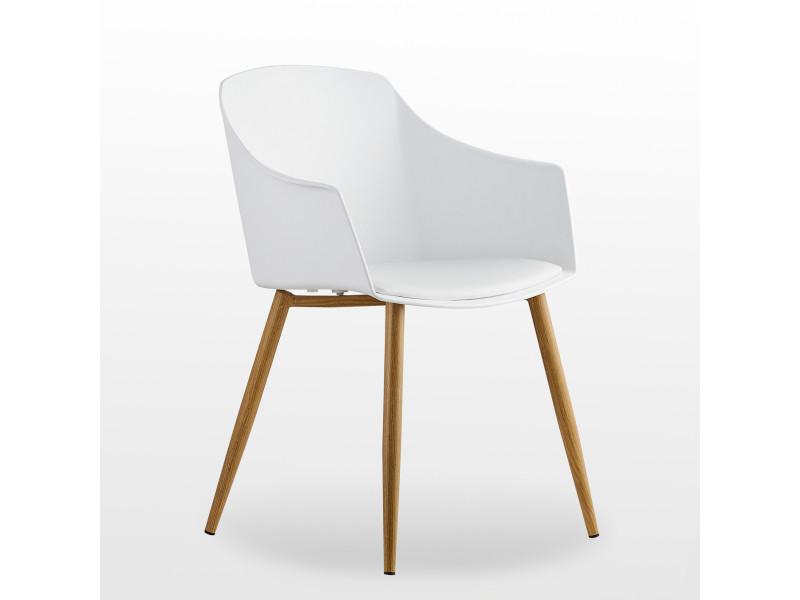 eden lot de 6 chaises design scandinave