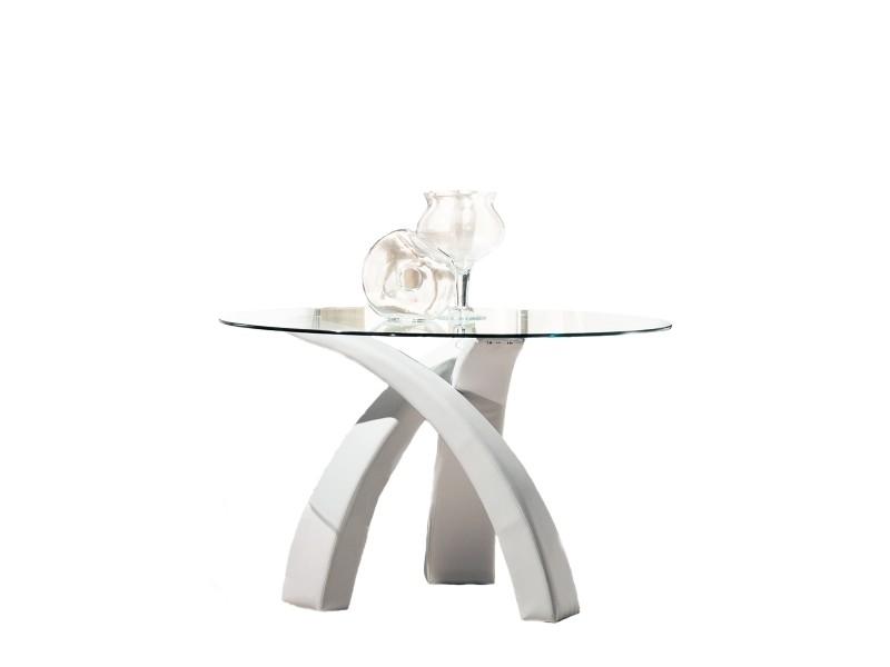 table design ronde verre