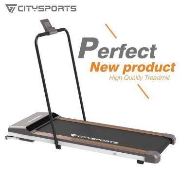 citysports tapis de course pliant fitness bureau domicile tapis de marche electrique 1 6 km h accoudoir wp1 p61319617