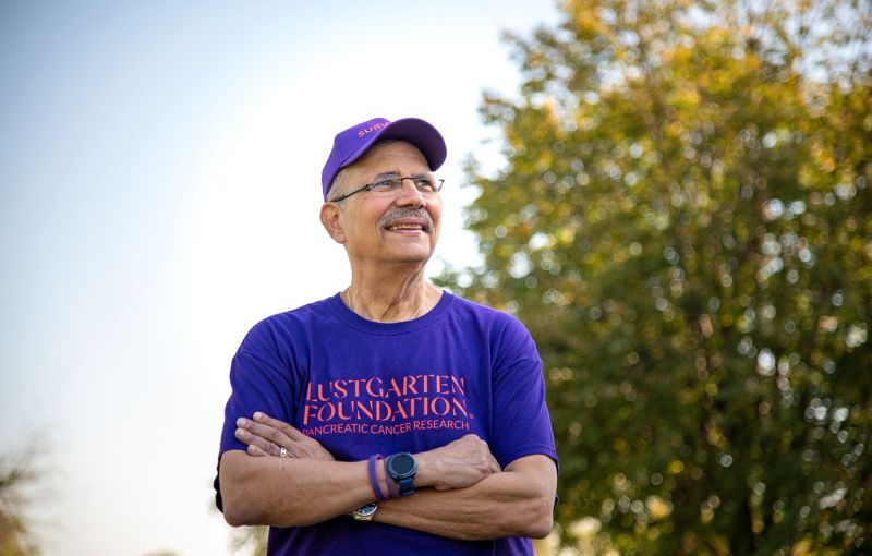 After Surviving Pancreatic Cancer, a Determination to Help Others